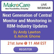 Webinar : Next Generation of Central Monitor and Monitoring in RBM-Industry Updates